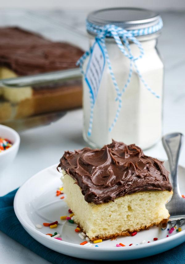 gluten-free homemade cake mix