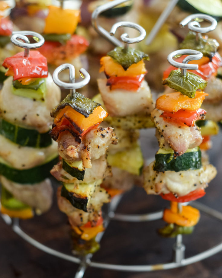 Ninja Foodi Chicken Kabobs Air Fryer Mommy Hates Cooking