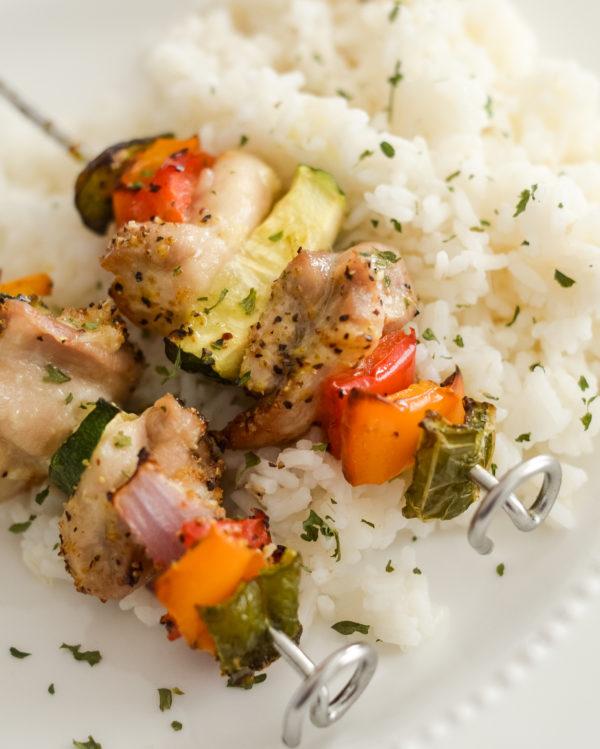 Ninja Foodi Chicken Kabobs (Air Fryer)