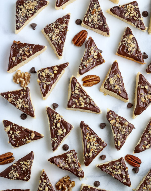 Frosted Cookie Triangles (Gluten-Free)