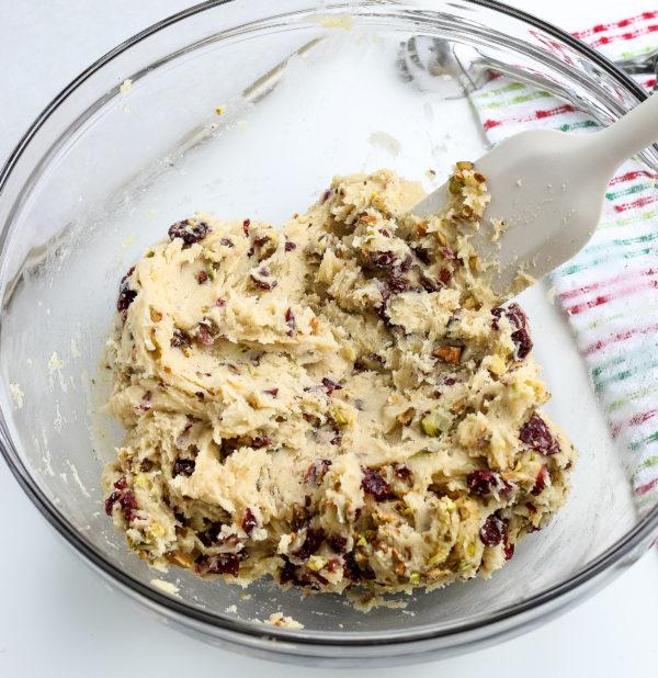 Cranberry Pistachio Cookies (Gluten-Free)