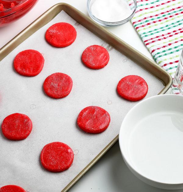 Gluten-Free Peppermint Cookies