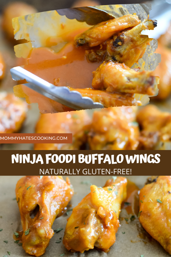 NINJA FOODI BUFFALO WINGS
