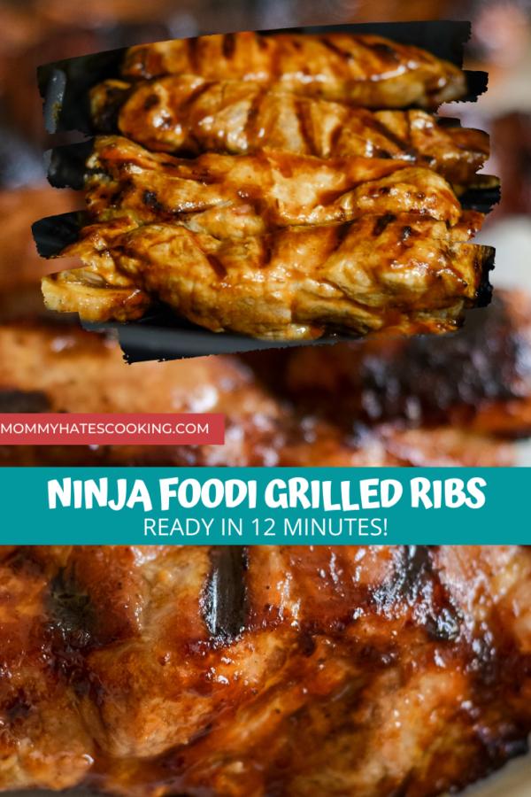 Ninja Foodi Grilled Ribs