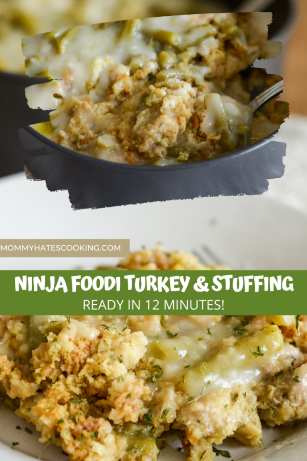 Ninja Foodi Turkey and Stuffing