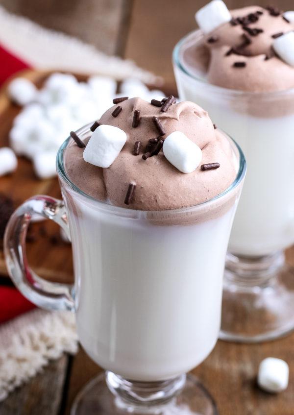 Whipped Hot Chocolate (Gluten-Free)