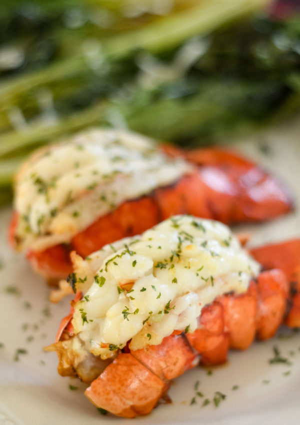 Ninja Foodi Grilled Lobster Tail