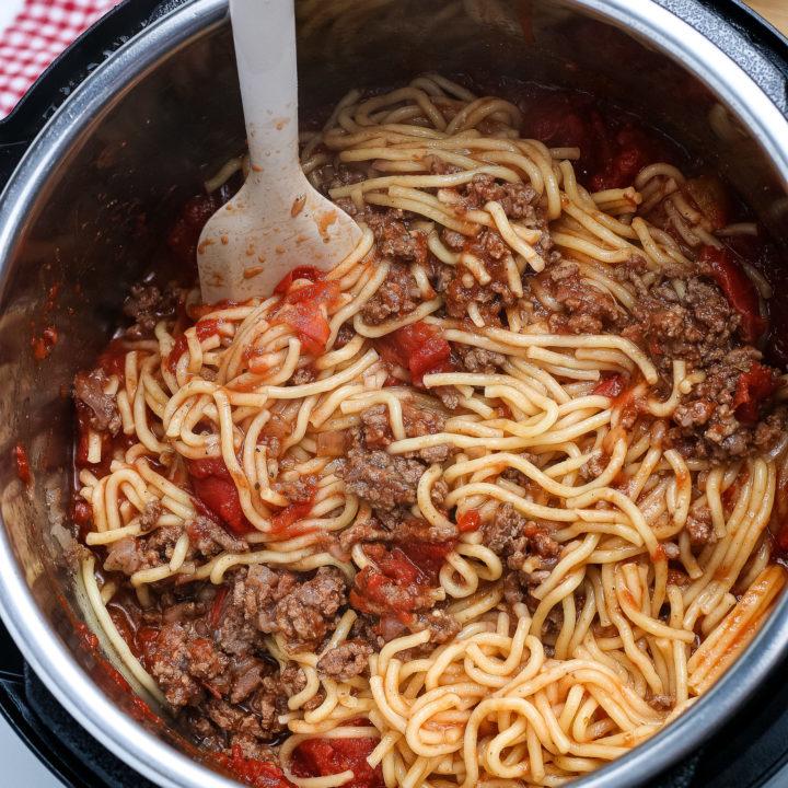 Ninja Foodi Spaghetti