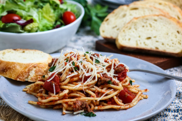 Ninja Foodi Spaghetti (Gluten-Free)