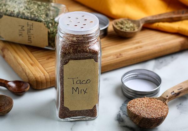 Homemade Taco Seasoning (Gluten-Free)