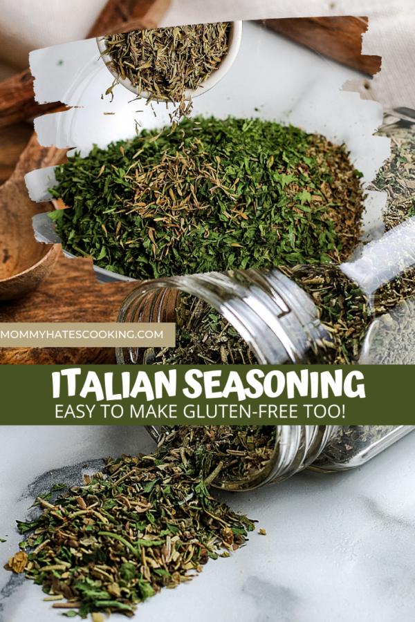 Homemade Italian Seasoning (Gluten-Free)