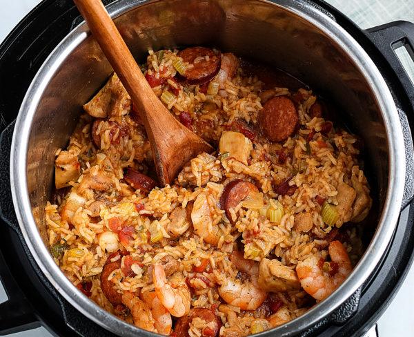 Ninja Foodi Jambalaya (Gluten-Free)