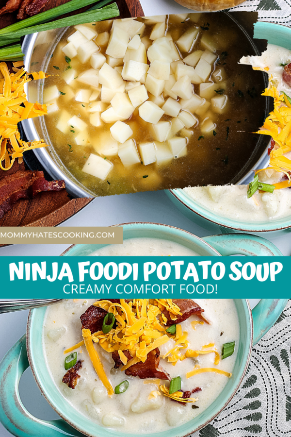 Ninja Foodi Potato Soup (Gluten-Free)