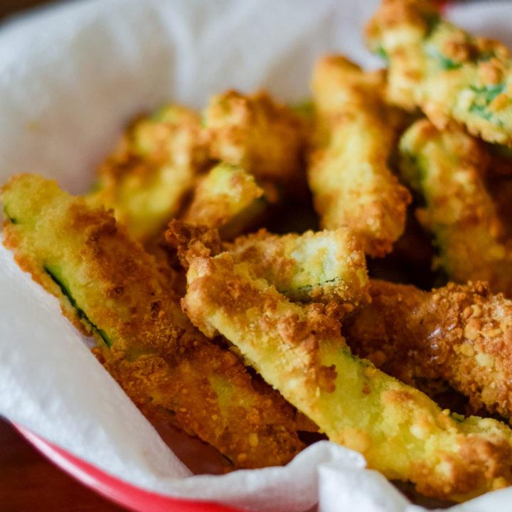 Ninja Foodi Zucchini Fries (Gluten-Free)