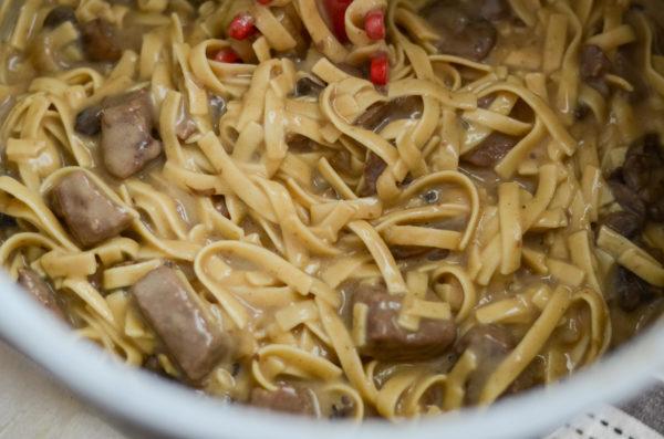 Ninja Foodi Beef Stroganoff (Gluten-Free)