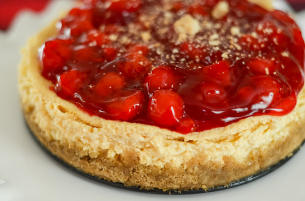 Ninja Foodi Cheesecake (Gluten-Free Optional)