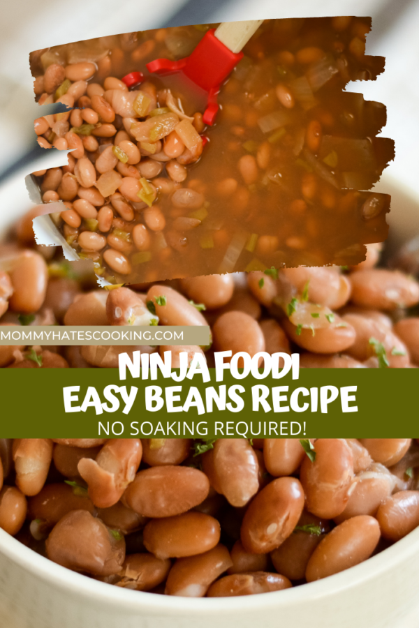 Ninja Foodi Beans (No Soak Method)