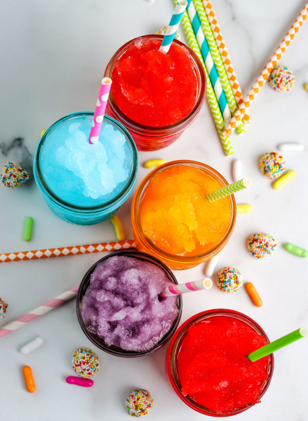 Easy Sonic Slushies (Homemade Slushies)