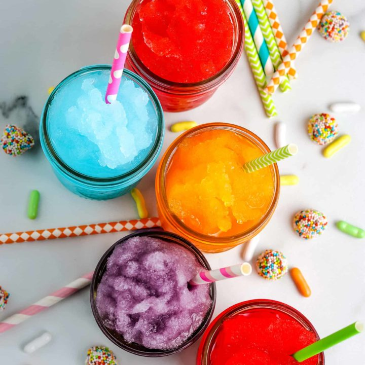 Homemade Slushies