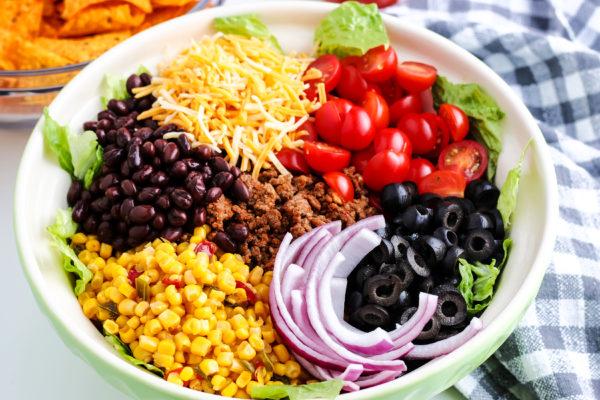 Dorito Taco Salad (Gluten-Free)