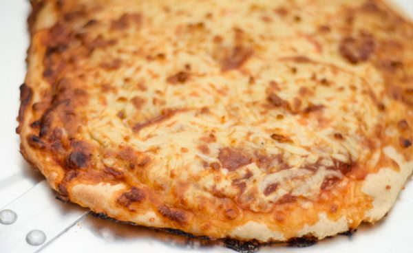 Pellet Grill Pizza (Green Mountain Grill)