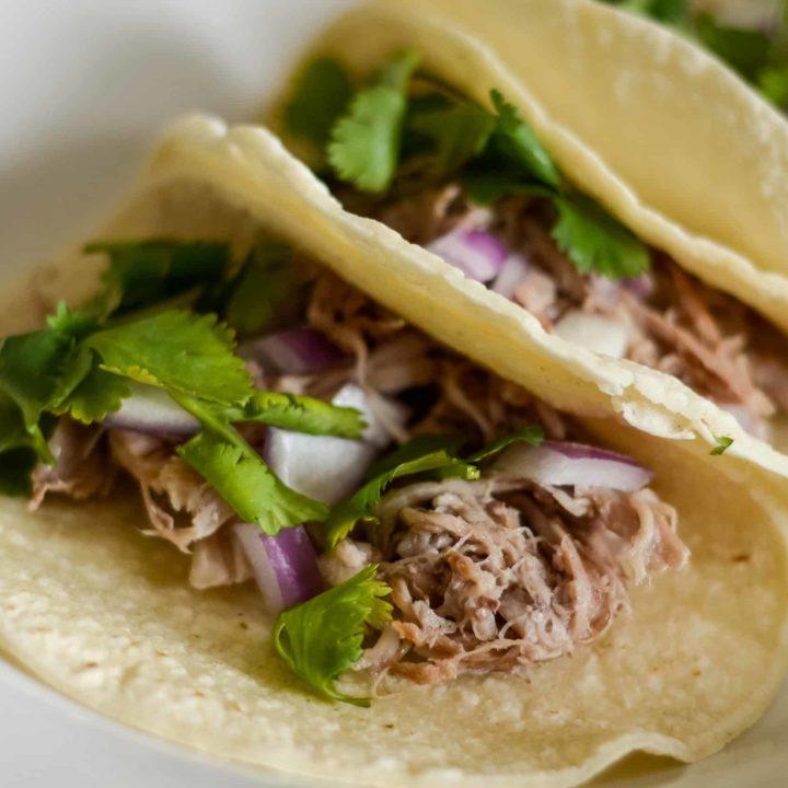 Ninja Foodi Pork Street Tacos