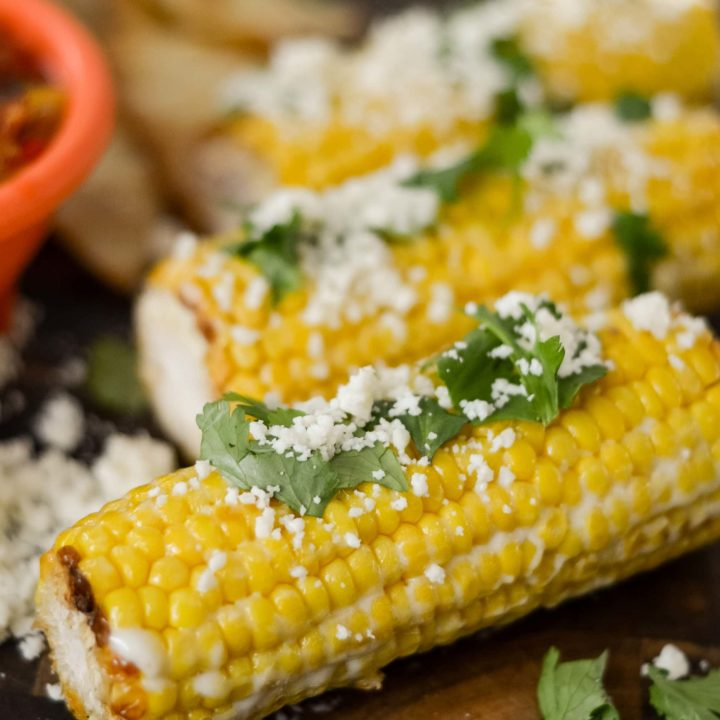 Ninja Foodi Mexican Street Corn