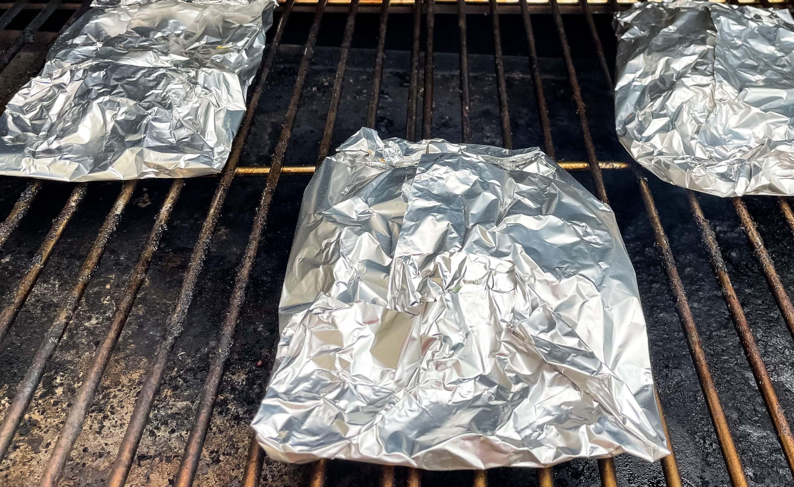 Pellet Grill Chicken Fajitas (Foil Packs)