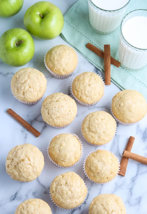 gluten-free apple cinnamon muffins