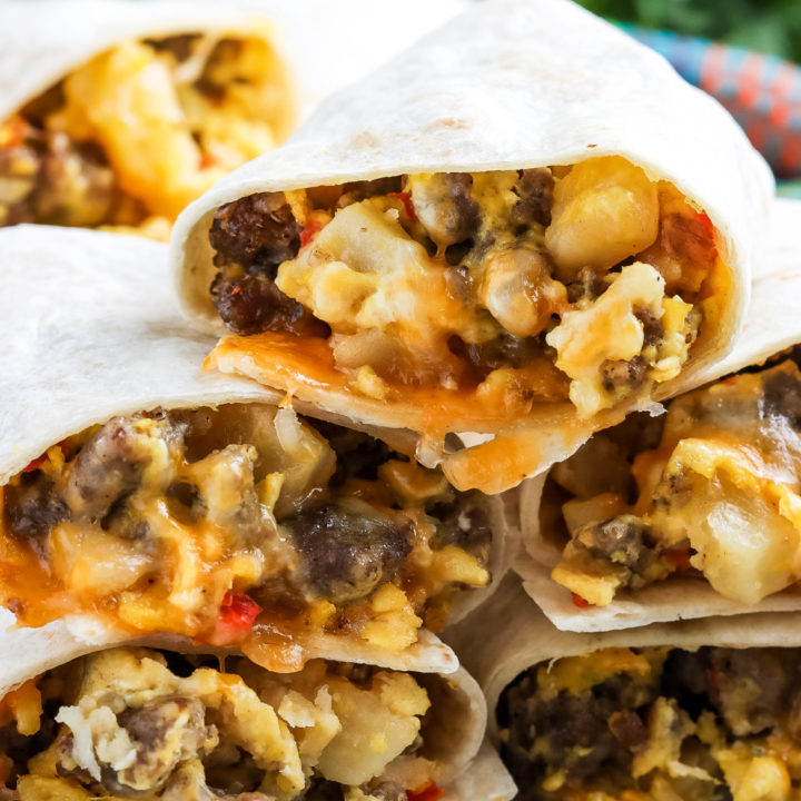 Gluten-Free Breakfast Burritos