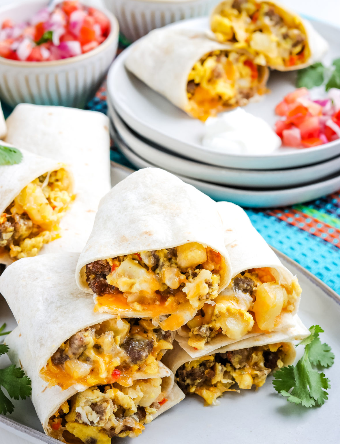 Gluten-Free Breakfast Burritos from Mommy Hates Cooking