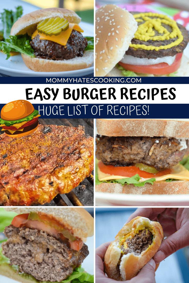 burger recipes