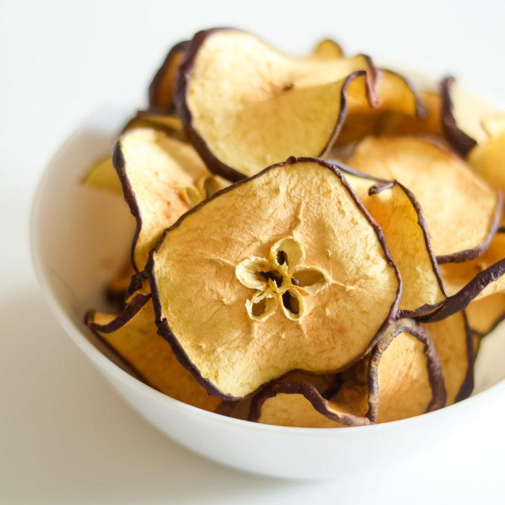 Ninja Foodi Apple Chips