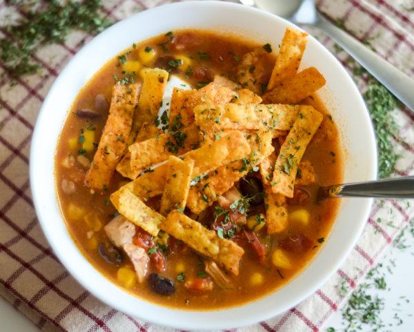 ninja foodi enchilada soup