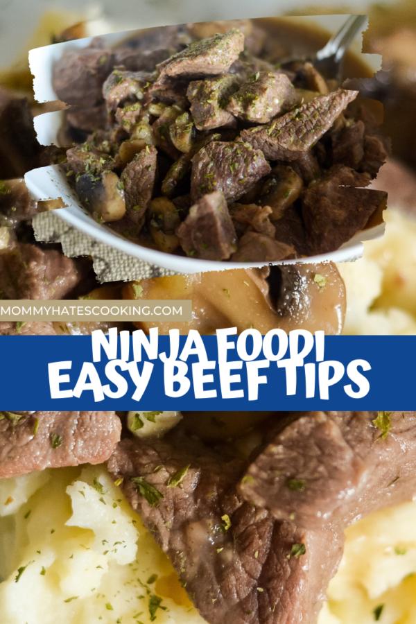 ninja foodi beef tips