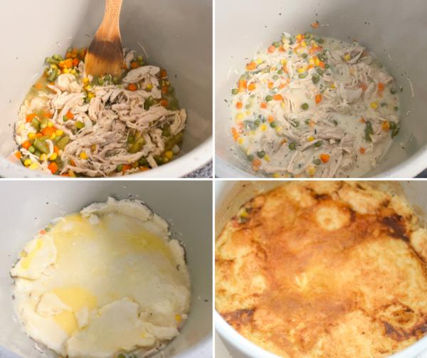gluten -free ninja foodi chicken pot pie