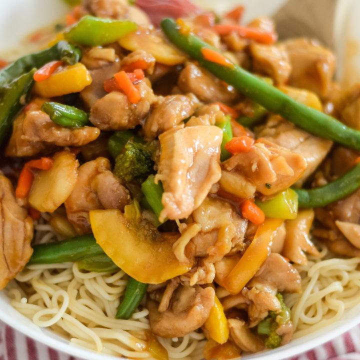 Ninja Foodi Chicken Stir Fry