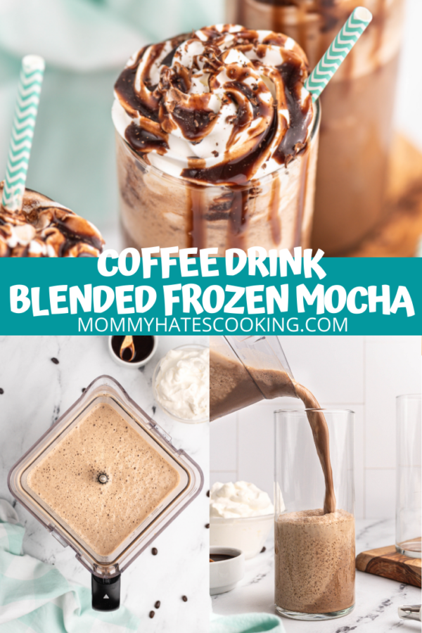 frozen mocha coffee
